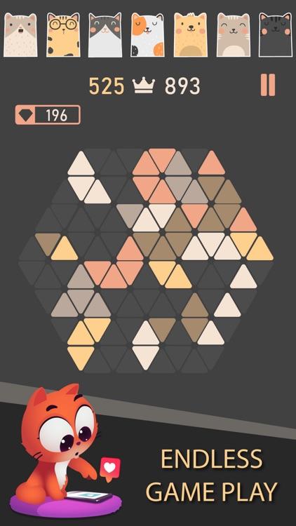 Trigon : Triangle Block Puzzle screenshot-3
