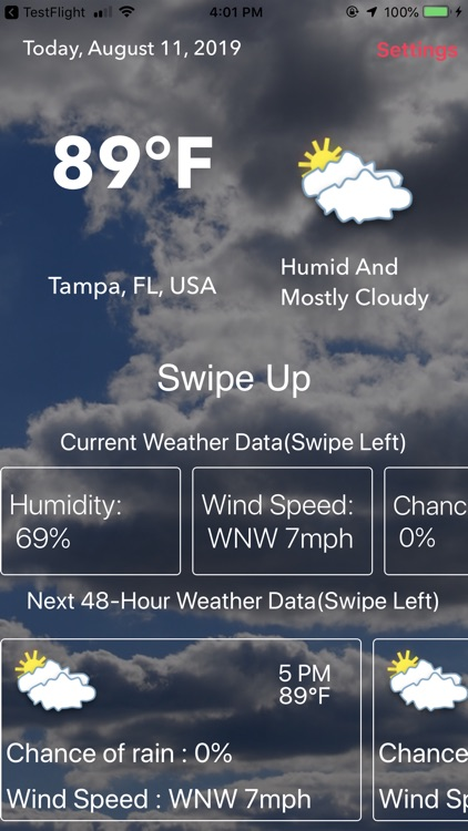 Weather : Clouds are White. screenshot-4
