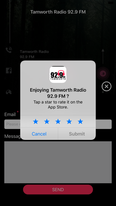 Tamworth Radio 92.9 FM screenshot 3