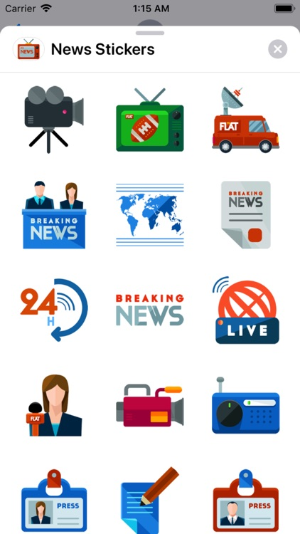 News Stickers