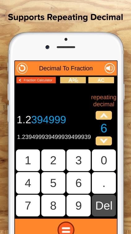 Fraction Calculator + Decimals screenshot-4