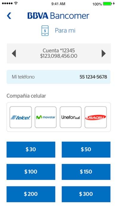 Screenshot for BBVA México (Bancomer Móvil) in Mexico App Store