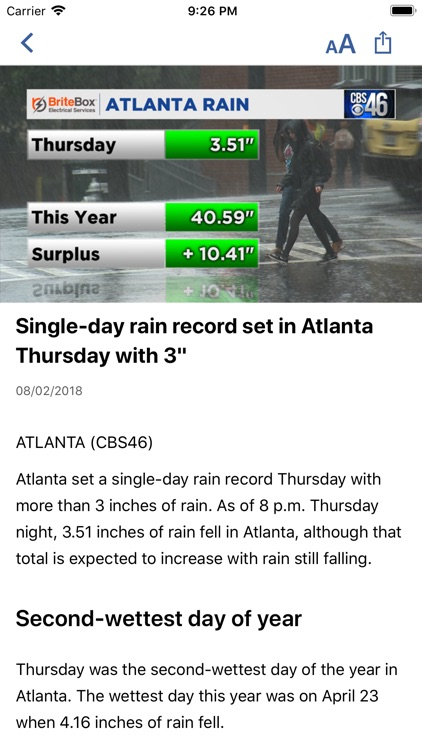 CBS46 News Atlanta screenshot-3