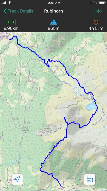 GPS Track - Hike & Bike screenshot-3