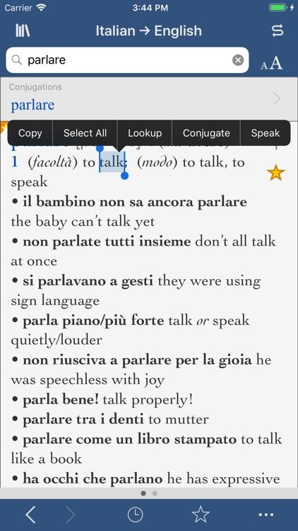 Collins Italian-English