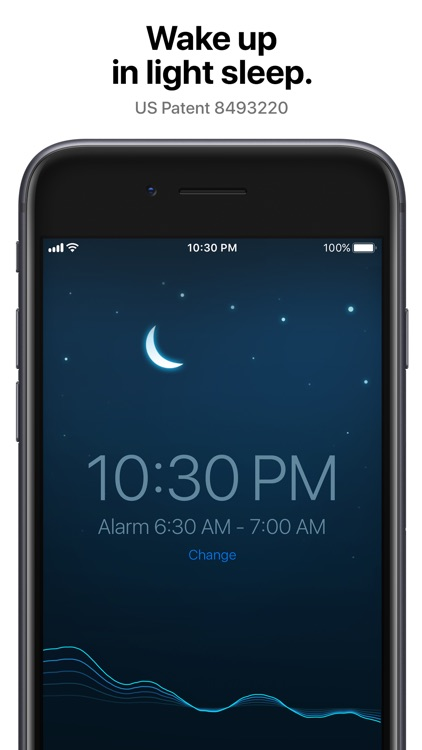 Sleep Cycle: smart alarm clock screenshot-0