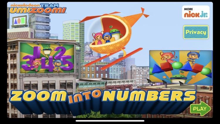Umizoomi Zoom Into Numbers