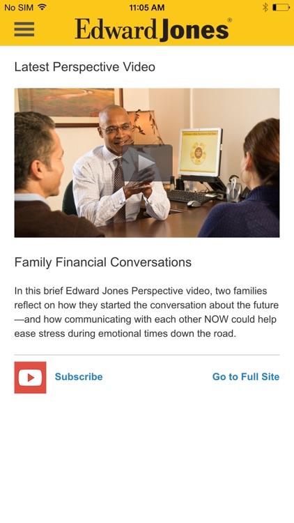 Edward Jones Mobile screenshot-3