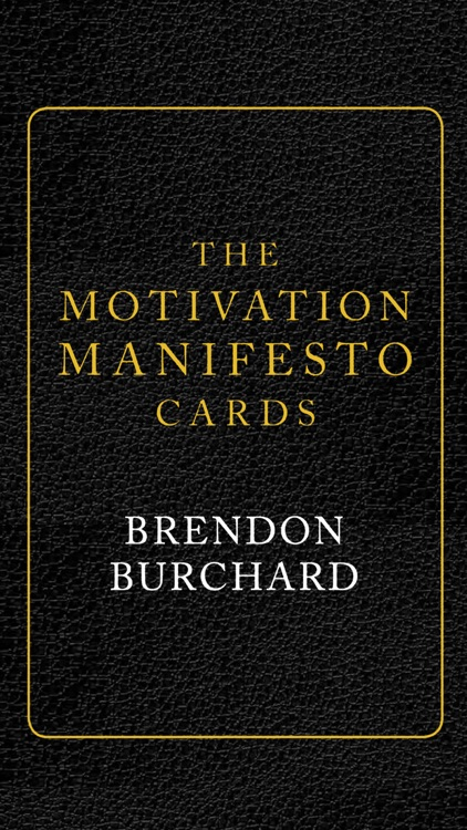 Motivation Manifesto Cards screenshot-0