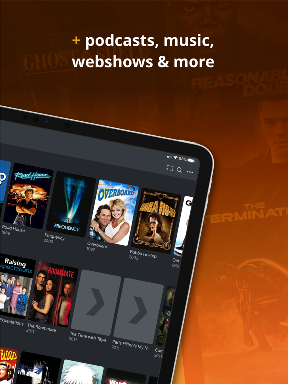 Plex: Movies, TV, Music + more Screenshots