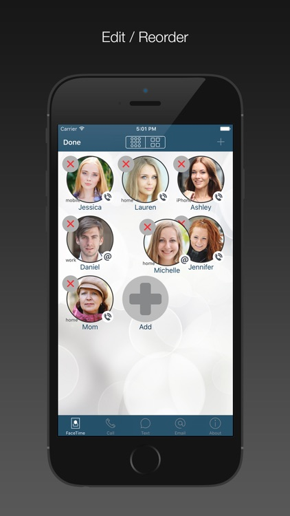 FaceDial PRO Photo Dialer screenshot-3