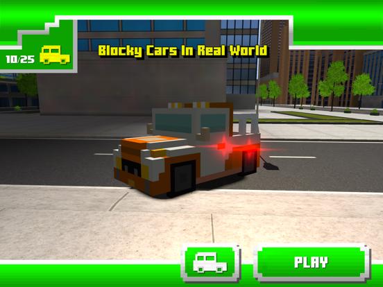 Blocky Cars In Real World screenshot 4