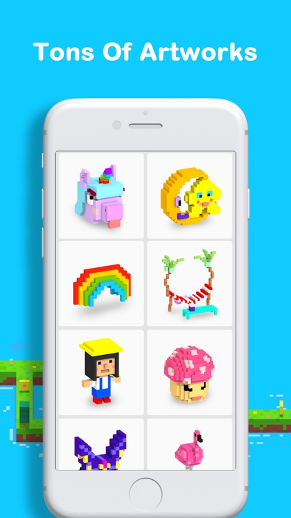 Voxel - 3D Color by Number screenshot-3