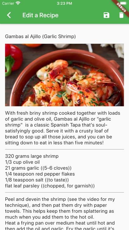 Flavor - Save your recipes screenshot-3