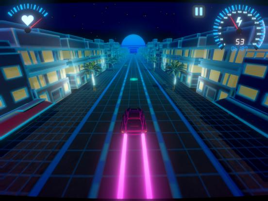 OverDrive - Synthwave Racerのおすすめ画像3