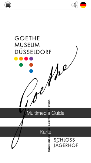 Goethe-Museum Screenshot