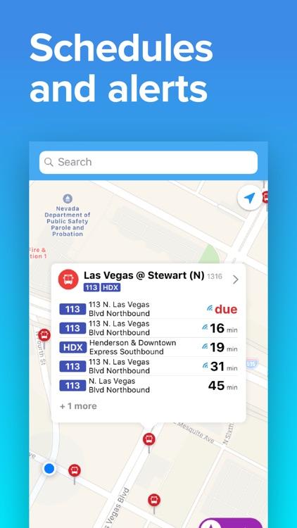Las Vegas Transit: RTC Times screenshot-4