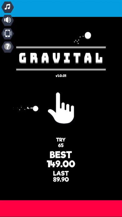 Gravital : Gravity Balls screenshot one