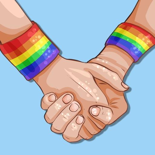 Gay LGBT Stickers