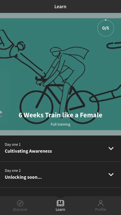 Train Like a Female screenshot 1