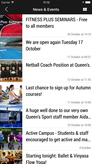 Queen's Sport screenshot four
