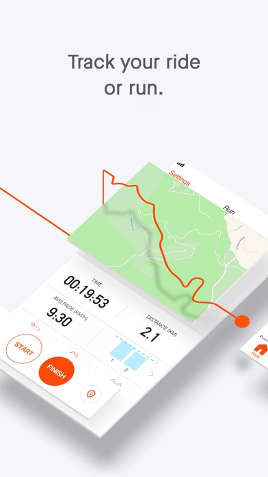 Screenshot for Strava: Run & Ride Training in Singapore App Store