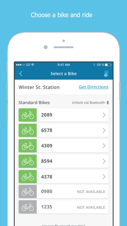 Zagster screenshot-2