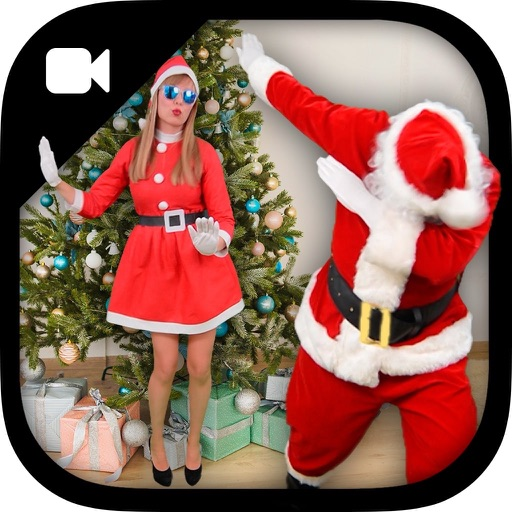 Video with Santa & Mrs Claus