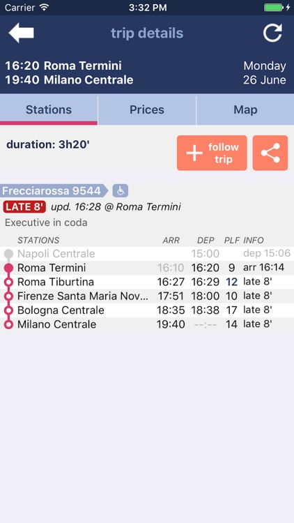 Trenìt! - find Trains in Italy screenshot-4