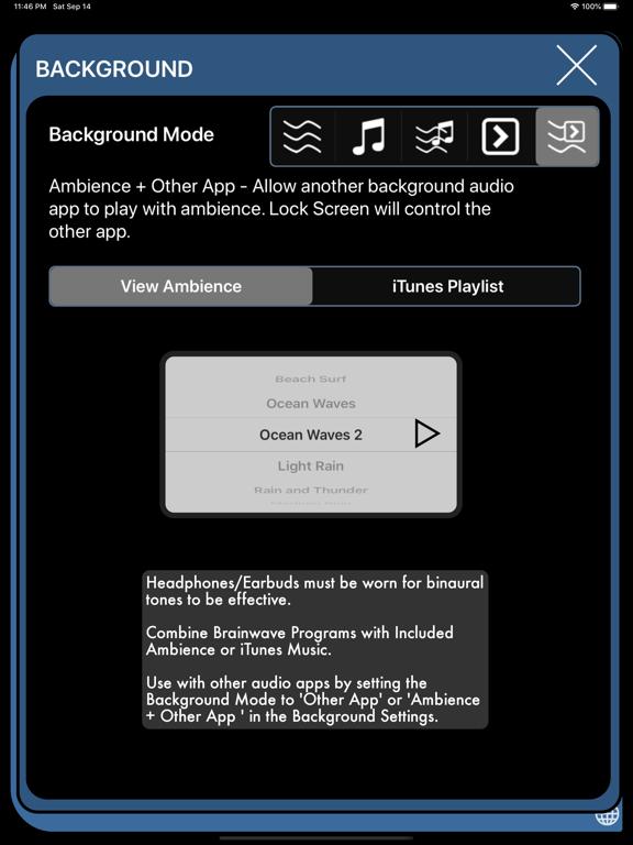 Screenshot #5 pour Brain Wave™ 35 Binaural Series