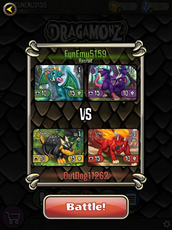 Dragamonz AR Battle screenshot 13