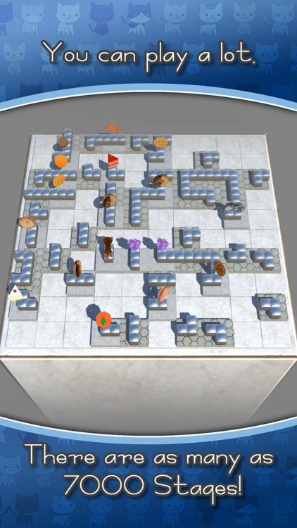 Cat Meets Cat - Sliding Puzzle screenshot-3