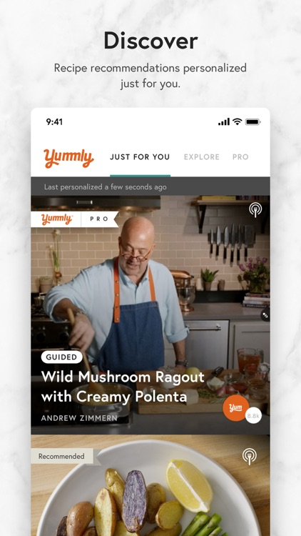 Yummly Recipes + Shopping List screenshot-0