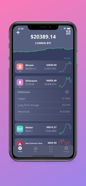 Cold Crypto (Coin Tracker) Screenshot