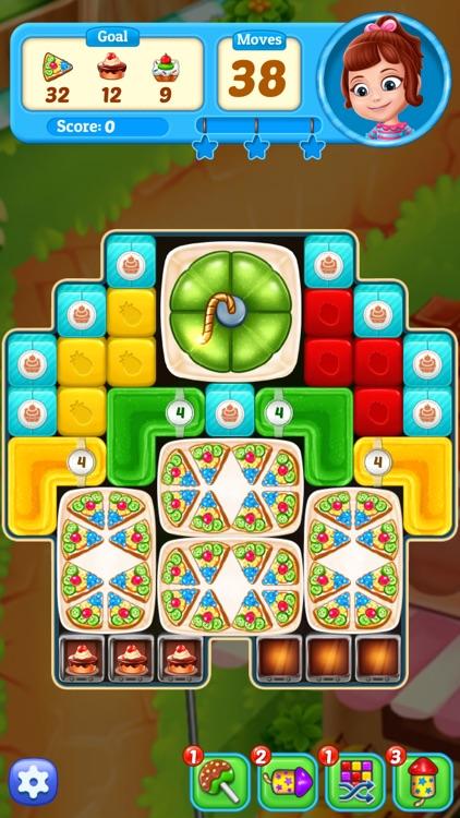 Fruit Cube Blast: Match 3 Game screenshot-7