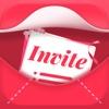 ウェディング招待状 - 自分でデザインする - iPhoneアプリ