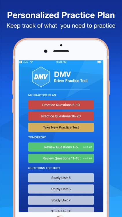 DMV Practice Test Smart Prep + by Friendly App Studio