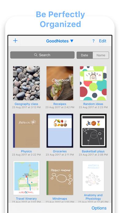 GoodNotes 4 Screenshots