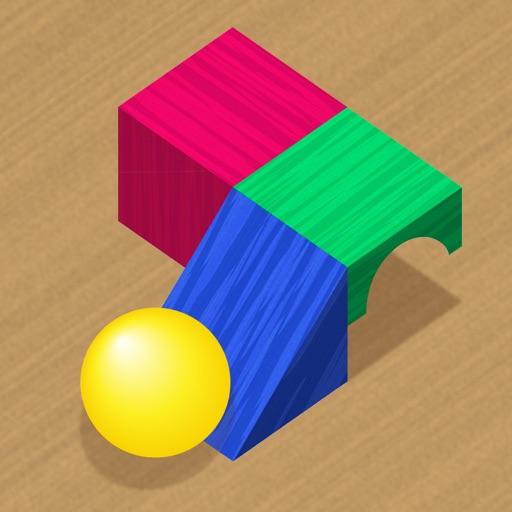 Woody Bricks and Ball Puzzles