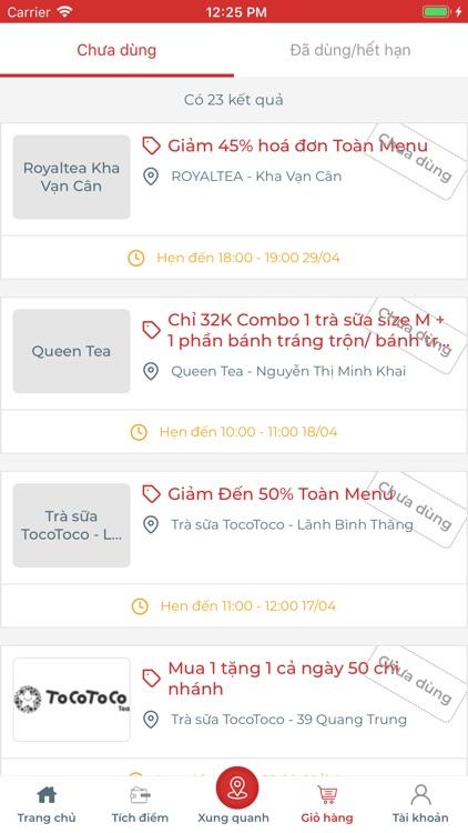 Meete - Ưu đãi, hoàn tiền screenshot-5