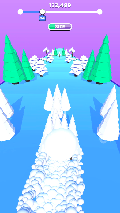 Rolling Snow! screenshot 2
