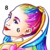 Coloring Fun : Color by Number