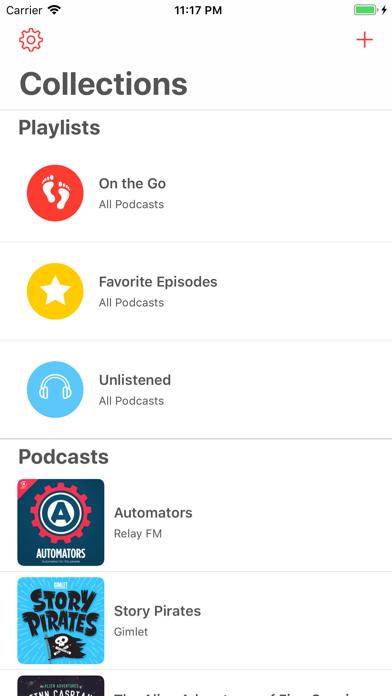 Castamatic Podcast Player screenshot one