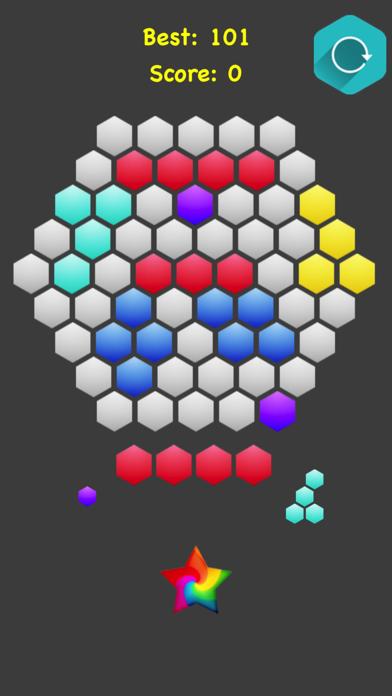Join Blocks - Hexagonal Merger screenshot 1