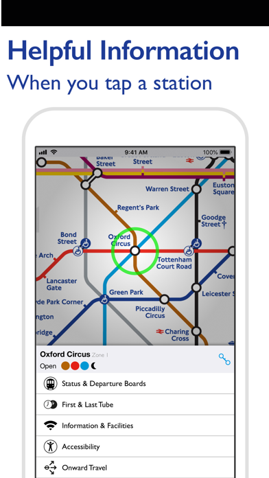 Screenshot for Tube Map Pro in United States App Store