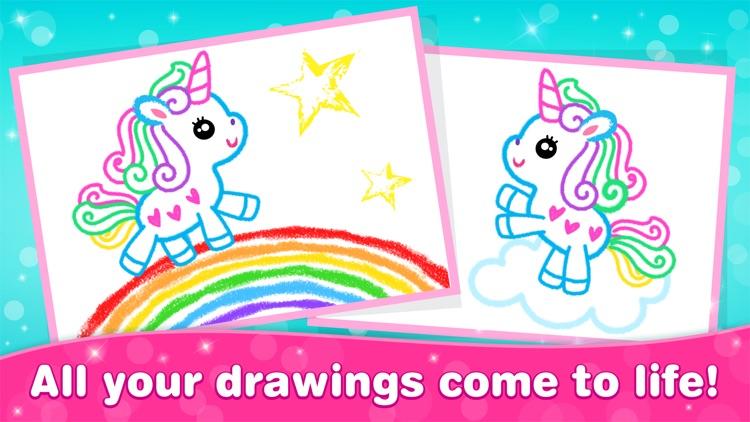 Games for Girls! Kids Drawing! screenshot-3