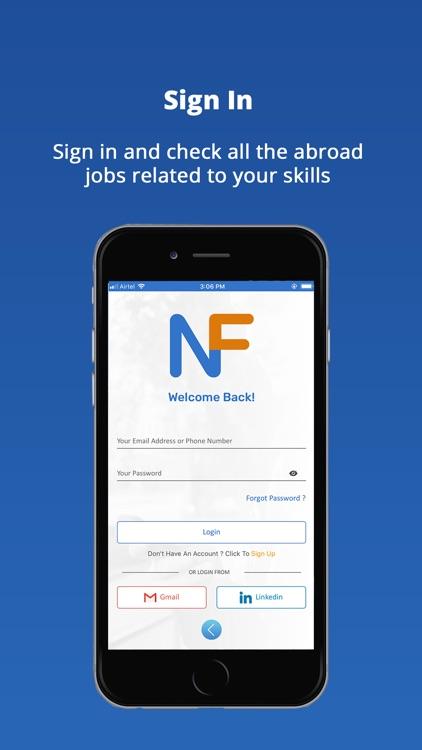 Newforce: Job Search