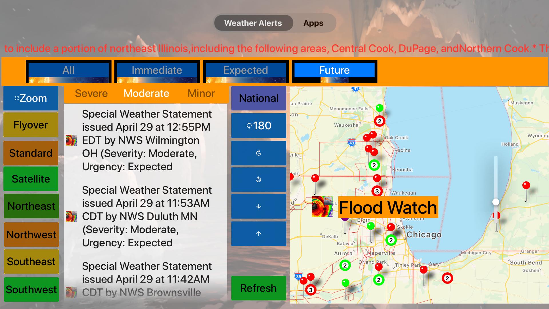 Instant NOAA Alerts 3D Lite screenshot 19