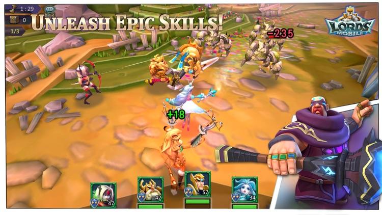 Lords Mobile: Kingdom Wars screenshot-4