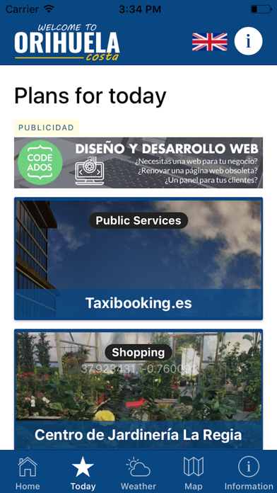 Welcome to Orihuela Costa screenshot two